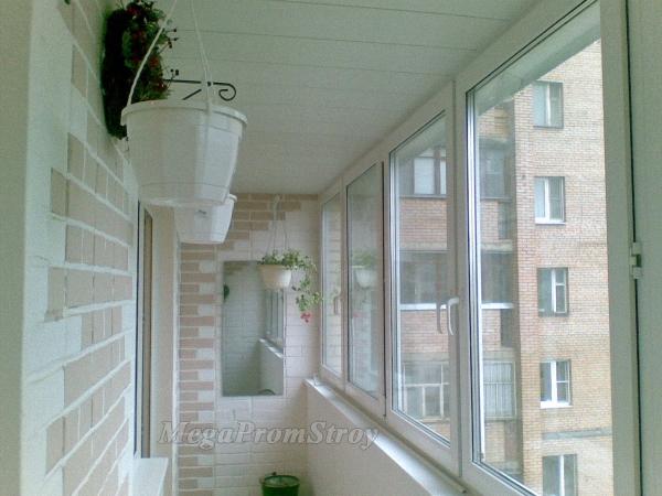 Отделка и утепление лоджий и балконов м и м\\о..